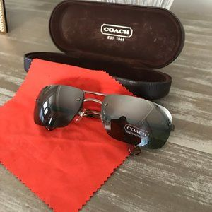 COACH Sullivan Sunglasses S316 GRN Mirror Lens